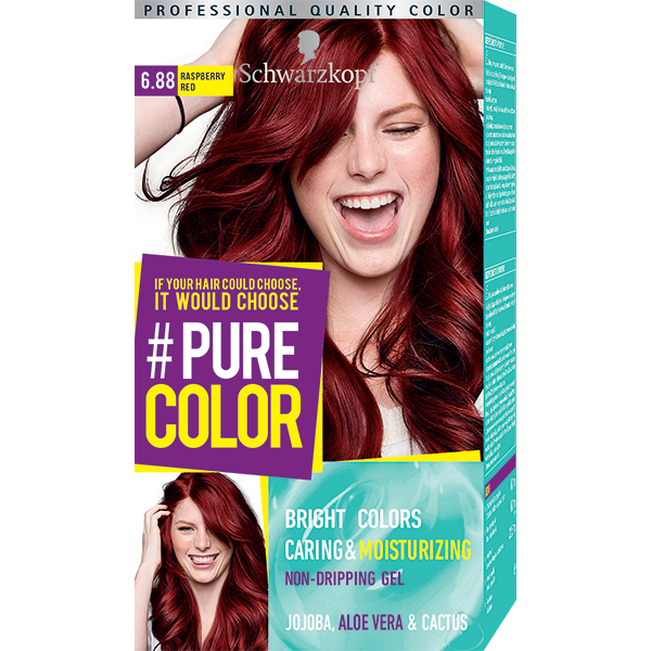 Vopsea De Par Schwarzkopf Pure Color 688 Rosu Zmeura 1425ml