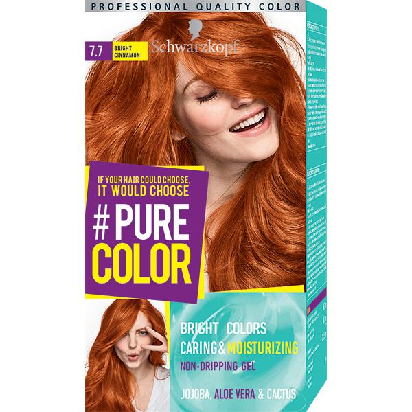 Vopsea de par SCHWARZKOPF Pure Color, 7.7 Scortisoara aprinsa, 142.5ml