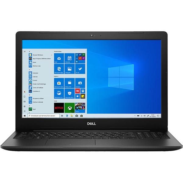 """Laptop DELL Vostro 3590, Intel Core i5-10210U pana la 4.2GHz, 15.6"""" Full HD, 8GB, SSD 256GB, Intel UHD Graphics, Windows 10 Pro, negru"""
