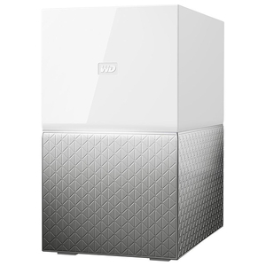 Network Attached Storage WD My Cloud Home Duo WDBMUT0040JWT, 4TB, alb-argintiu