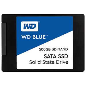 """Solid-State Drive (SSD) WESTERN DIGITAL Blue 500GB, SATA3, 2.5"""", WDS500G2B0A"""