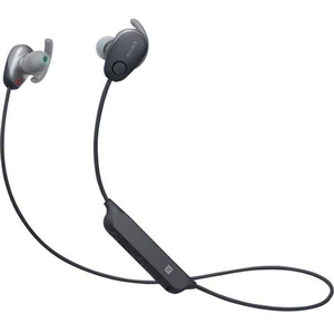 Casti SONY WI-SP600NB, Bluetooth, NFC, In-Ear, Microfon, Noise Cancelling, Rezistente la stropire, negru