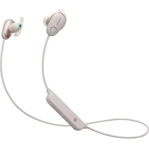 Casti audio sport in-ear cu microfon SONY WI-SP600NP, Rezistente la stropire, Noise Cancelling, Bluetooth, NFC, Roz