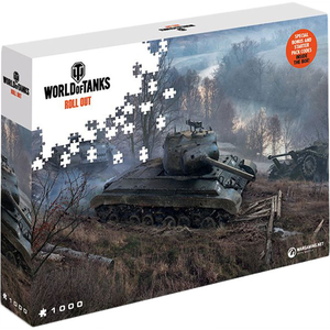 Puzzle World of Tanks Roll Out - On the Prowl, 1000 pcs