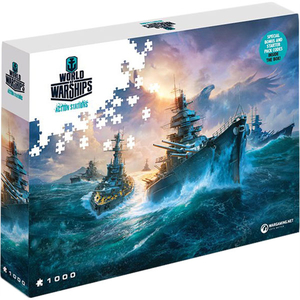 Puzzle World of Warships Action Stations - German Battleships, 1000 pcs