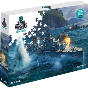 Puzzle World of Warships Action Stations - Pan-Asian Destroyers, 1000 pcs