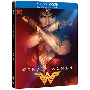Wonder Woman Blu Ray 3d Blu Ray Steelbook