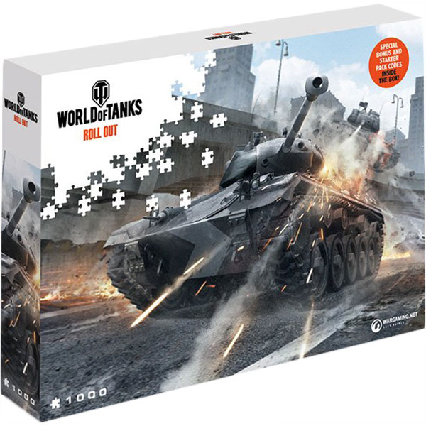 Puzzle World of Tanks Roll Out - Watch Your Back, 1000 pcs