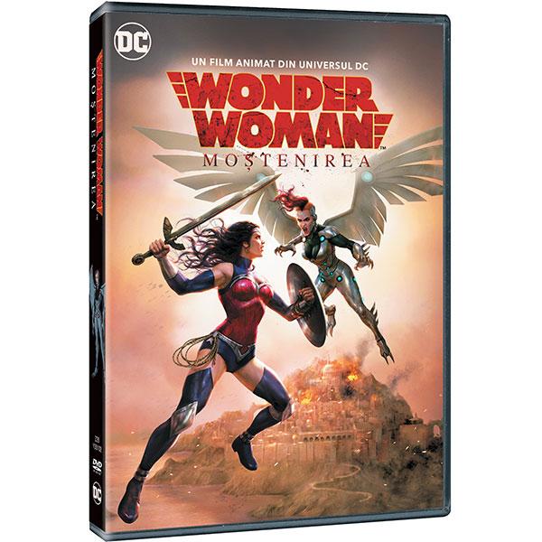 Wonder Woman: Mostenirea DVD