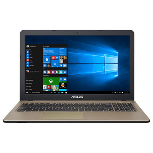 "Laptop ASUS X540UA-DM1153T, Intel Core i3-7020U 2.3GHz, 15.6"" Full HD, 4GB, SSD 256GB, Intel HD Graphics 620, Windows 10 Home, Chocolate Black"