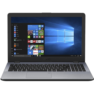 "Laptop ASUS X542UA-DM522T, Intel Core i5-8250U pana la 3.4GHz, 15.6"" Full HD, 4GB, HDD 500GB + SSD 128GB, Intel UHD Graphics 620, Windows 10 Home, Gri"