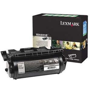 Toner LEXMARK XL X644H11E CTG X64XE Return Program, negru