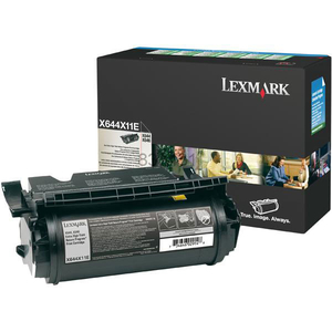 Toner LEXMARK XXL X644X11E CTG X64XE Return Program, negru