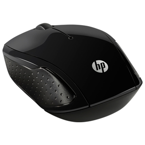 Mouse Wireless HP 200, 1000 dpi, negru