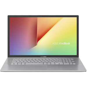 "Laptop ASUS VivoBook X712FA-AU210, Intel Core i7-8565U pana la 4.6GHz, 17.3"" Full HD, 8GB, 2TB, Intel UHD Graphics 620, Linux, Argintiu"