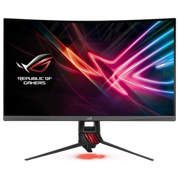 """Monitor Gaming curbat LED VA ASUS ROG Strix XG32VQ, 31.5"""", WQHD, 144Hz, FreeSync, negru"""