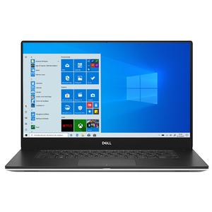 "Laptop DELL XPS 15 7590, Intel Core i9-9980K pana la 5.0GHz, 15.6"" 4K Touch, 32GB, SSD 1TB, NVIDIA GeForce GTX 1650 4GB, Windows 10 Pro, argintiu"