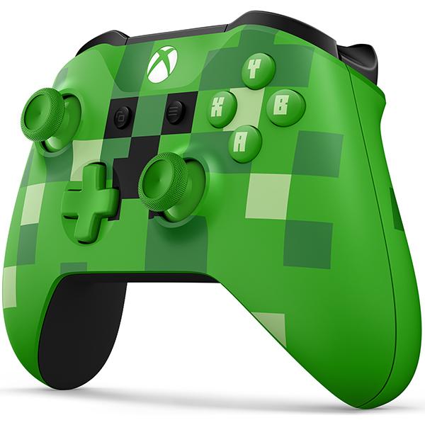 Controller wireless MICROSOFT Xbox One - Minecraft Creeper Edition