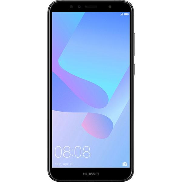 Telefon HUAWEI Y6 2018, 16GB, 2GB RAM, Dual SIM, Black