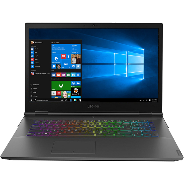 "Laptop Gaming LENOVO Legion Y740-15ICHg, Intel® Core™ i7-8750H pana la 4.1GHz, 15.6"" Full HD, 16GB, HDD 1TB + SSD 512GB, NVIDIA GeForce RTX 2070 8GB, Windows 10 Home, Negru"