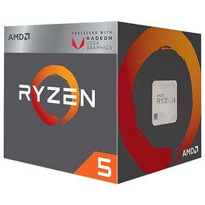 Procesor AMD RYZEN 5 2400G, 3.6GHz/3.9GHz, 6MB, socket AM4, YD2400C5FBBOX