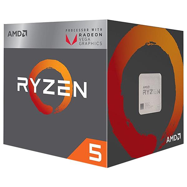 Procesor AMD Ryzen 5 2400G, 3.6GHz/3.9GHz, Socket AM4, YD2400C5FBBOX