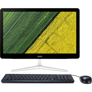 "Sistem PC All in One ACER Aspire Z24-880, 23.8"" Full HD Touch, Intel® Core™ i3-7100 3.4GHz, 4GB, SSD 128GB, Intel HD Graphics 630, Windows 10 Home"