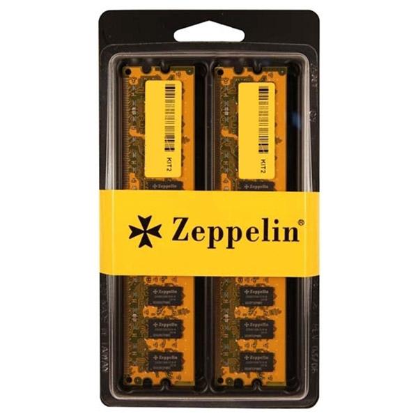Memorie desktop ZEPPELIN 2x8GB DDR4, ZE-DDR4-16G2400-KIT