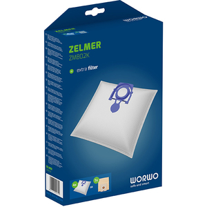 Kit WORWO ZMB02K: 4 saci  + 1 filtru