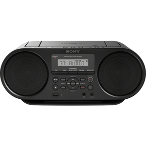 Radio CD portabil SONY ZS-RS60BT, Bluetooth, USB, negru
