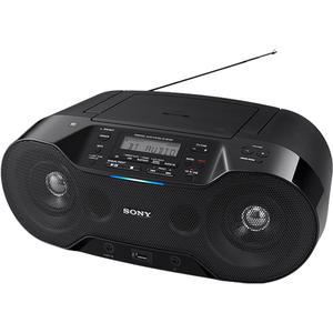 Radio CD portabil SONY ZS-RS70BT, Bluetooth, USB, negru