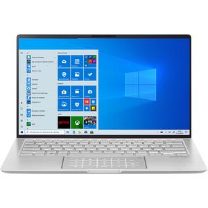 "Laptop ASUS ZenBook 14 UM433DA-A5018R, AMD Ryzen 7-3700U pana la 4.0GHz, 14"" Full HD, 16GB, SSD 1TB, AMD Radeon RX Vega 10 Graphics, Windows 10 Pro, Icicle Silver"