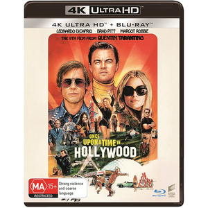 A fost odata la Hollywood 4K Ultra Hd + Blu-Ray