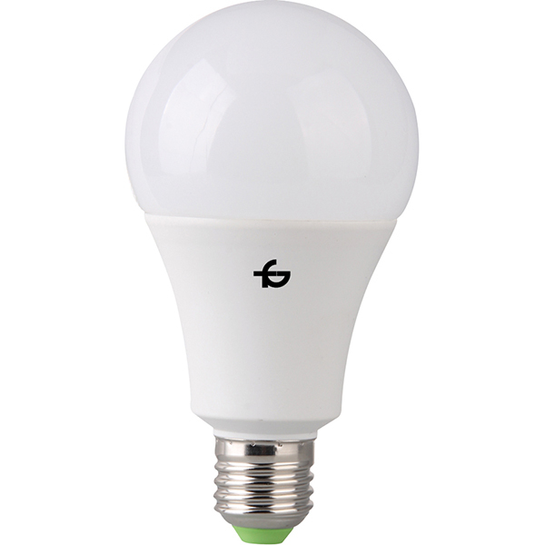 Bec LED TOTAL GREEN A75 EL0032974, 18W/E27/3000K, alb