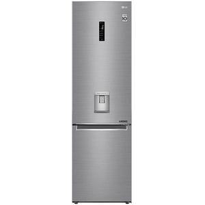 Combina frigorifica LG GBF62PZHZN, 384 l, 203 cm, A++, argintiu