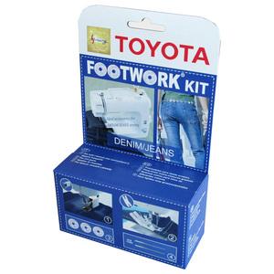 Set accesorii masina de cusut TOYOTA Kit Denim