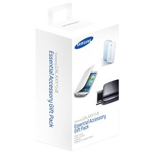 Kit accesorii pentru Samsung i9300 Galaxy S3, SAMSUNG ETC-K1G6CEGSTD, White