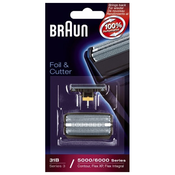 Rezerva 31 B pentru aparate de ras Braun