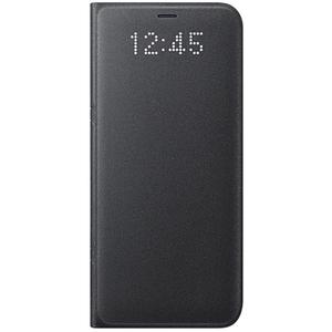 Husa Led Flip Wallet SAMSUNG Galaxy S8 Plus, EF-NG955PBEGWW, Black