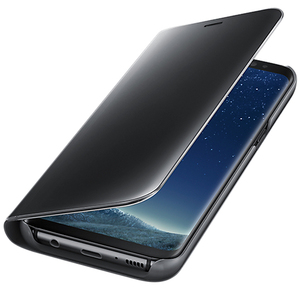 Husa Clear View SAMSUNG Galaxy S8 Plus, EF-ZG955CBEGWW, Black