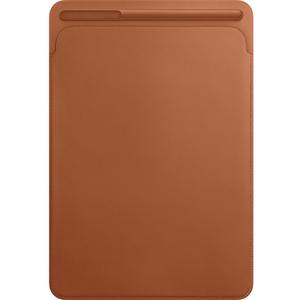 Husa piele sleve APPLE MPU12ZM/A pentru iPad Pro 10.5, Sadle Brown