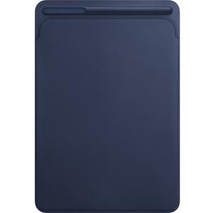 Husa piele sleve APPLE MPU22ZM/A pentru iPad Pro 10.5, Midnight Blue
