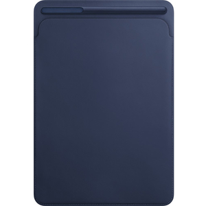 Husa piele sleve APPLE MQ0T2ZM/A pentru iPad Pro 12.9, Midnight Blue