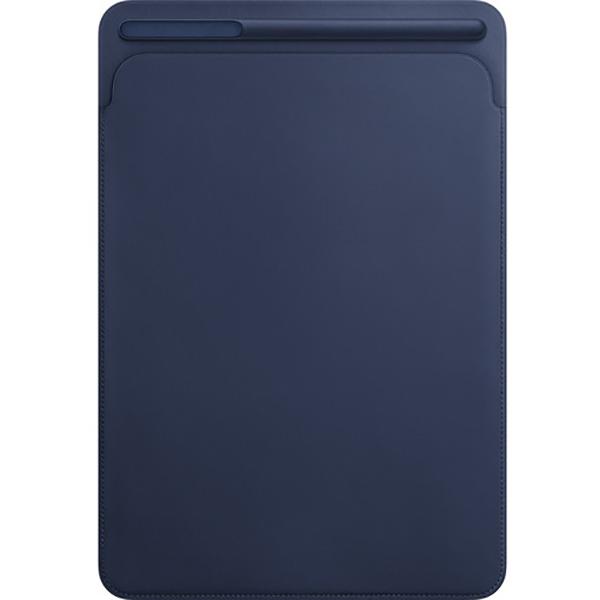 """Husa Leather Sleve pentru APPLE iPad Pro 10.5"""", MPU22ZM/A, piele, Midnight Blue"""