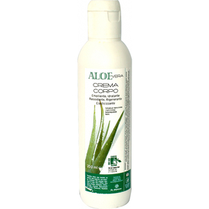 Crema de corp hidratanta LA DISPENSA, cu 25% gel virgin de Aloe Vera, 200ml