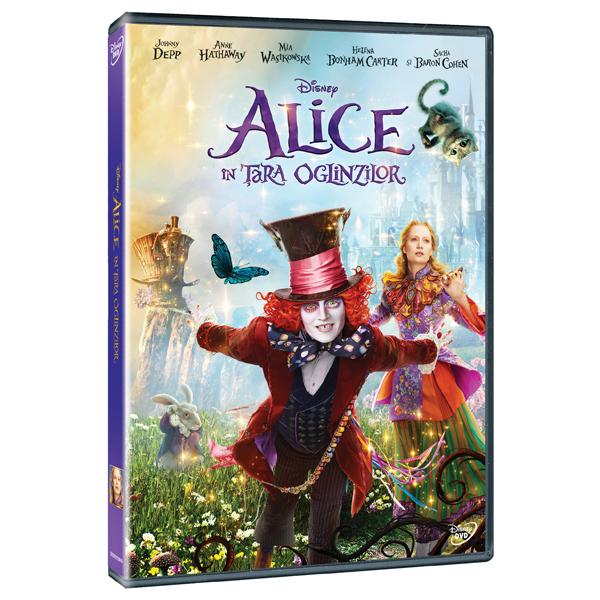Alice in Tara Oglinzilor DVD