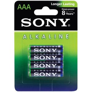 Baterii alcaline SONY AM4L-B4D, AAA, 4 buc