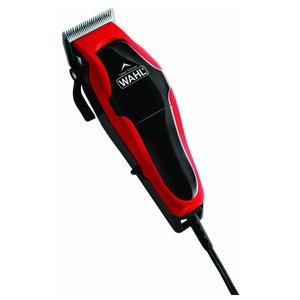 Aparat de tuns parul / grooming WAHL Clip & Trim, rosu - negru