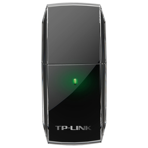 Adaptor USB Wireless TP-LINK Archer T2U AC600, Dual-Band 433 + 150 Mbps, negru