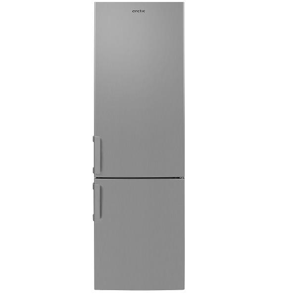 Combina frigorifica ARCTIC AK54305NFMT+, Full No Frost, 266 l, 181.2 cm, Clasa A+, argintiu